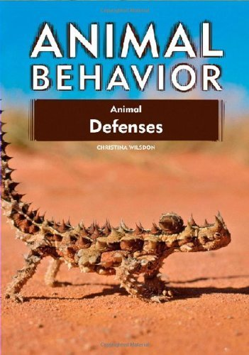 Animal defenses. Christina Wilsdon